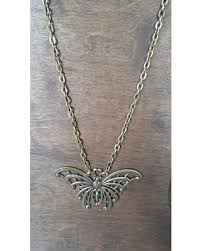 butterfly jewelry necklace images Amazing deal on butterfly necklace brass necklace big butterfly
