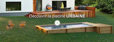 Piscine Encastrable Pas Cher by Piscine Hors Sol Bois Urbaine Proswell By Procopi L 2 5 X L 6 X H