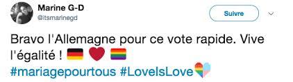 loi du mariage pour tous et sinon le mariage pour tous vient d être voté en allemagne