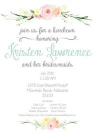 bridal luncheon invitation bridesmaids luncheon invitations paperstyle s