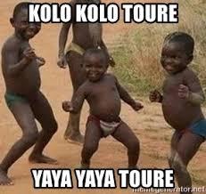 Kolo Toure Memes - kolo kolo toure yaya yaya toure african children dancing meme