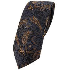 designer krawatten krawatten tigertie in gold für herren