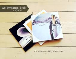 5x5 Photo Book Persnickety Prints Instagram Photo Book For Only 12