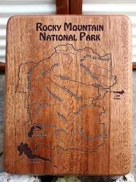 Colorado National Parks Map by Rocky Mountain National Park River Map Fly Box U2013 Stonefly Studio