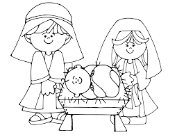 nativity scene coloring pages best coloring pages
