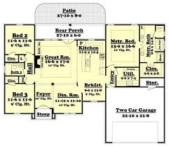 house plans floor master traditional acadian ranch house plan home plan 142 1002