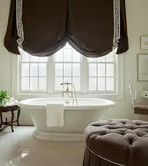 diamond bathtub white diamond pattern floor tiles transitional bathroom