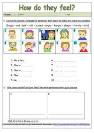 feelings puzzles and worksheets work stuff pinterest