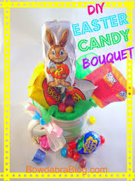 easter bunny candy easter bunny candy bouquet bowdabra