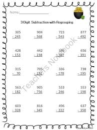 38 best math regrouping images on pinterest teaching ideas