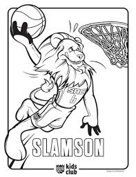 nba lakers coloring pages kings introduce new coloring pages sacramento kings