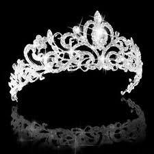 wedding crowns crown wedding tiaras and headbands ebay