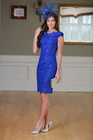 royal blue dress moi lace bardot royal blue dress virgo boutique