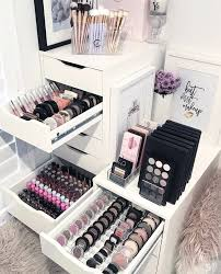 Makeup Vanity Storage Ideas Best 25 Makeup Storage Ideas On Pinterest Makeup Organization