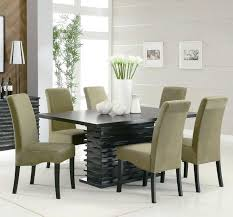 Dining Room Furniture Atlanta Dining Table Modern Round Glass Dining Table Set Contemporary