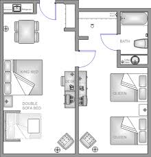 Hotel Suite Floor Plans Disneyland 2 Bedroom Suite Memsaheb Net