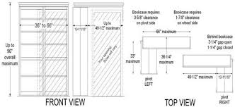 Bookcase Plans With Doors Bookcase Door Plans Jannamo