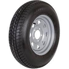 Walmart Trailer Tires Carrier Star St175 80d13 Range B Silver Rim Snowmobile Trailer