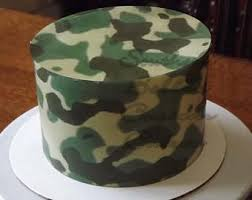 camoflauge cake camo cake ideas etsy