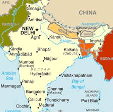 map of nepal and india nepal india tour