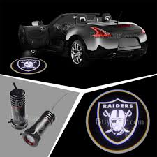Custom Car Lights Car Logo Led Ghost Shadow Welcome Light Laser For Oakland Raiders