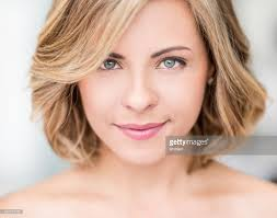 woman with short hair beautiful woman with short hair stock photo getty images