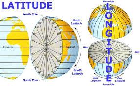latitude map basic map reading latitude longitude