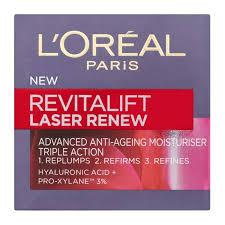 Prueba L Oreal Paris Revitalift Cicacrem Probar - l oréal paris revitalift laser renew advanced day moisturiser 50ml