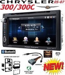 05 06 07 chrysler 300 c bluetooth touchscreen cd dvd usb aux bt