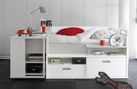 chambre ado gautier lit pour adolescent avec de nombreux rangements et un bureau