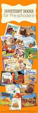 thanksgiving book list for preschoolers preschool class