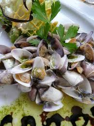 cuisiner des tellines recette des tellines à l ail coquillages telline recette des