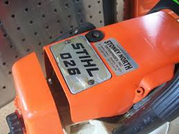 stihl 026 chainsaw with 18 stihl farm boss bar chain tested runs