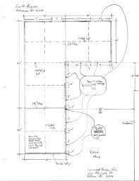 1800 square foot detached garage foundation project
