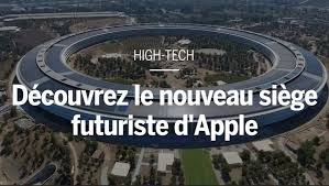 siege social traduction apple se paye un siège en forme de gigantesque vaisseau spatial