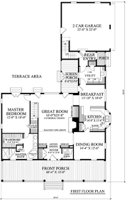 southern style house plan 3 beds 3 5 baths 2544 sq ft plan 137