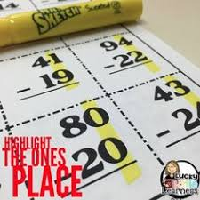 subtraction with regrouping checklist read more student and blog