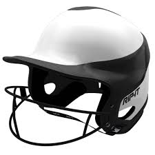 rip it viss fastpitch batting helmet w mask home xs