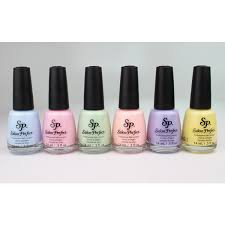 pastel perfection from salon perfect nail polish liked on