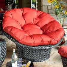 Rattan Papasan Chair Cushion Patio Furniture Lovely Papasan Chair With Charming Patio Cushion
