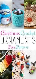 crochet ornament pattern woodland animal crochet pattern