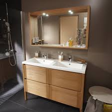 fabriquer meuble salle de bain beton cellulaire pose d u0027un meuble de salle de bains double vasque jusqu u0027à 175 cm