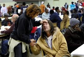 thanksgiving meals for the homeless and needy in