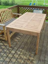 Make Wood Outdoor Table by Furniture 20 Amazing Images Diy Outdoor Dining Set Make Your