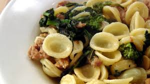orecchiette with sausage and broccoli rabe recipe by laura