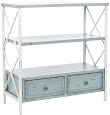 Distressed White Table Safavieh American Home Collection Marco Distressed Console Table