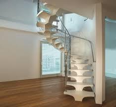 Unique Stairs Design Home Interior Smart Creative Wooden Under Stair Storage Modern
