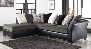 Homelegance Furniture Atlanta Ga Armant Ebony Left Chaise Sectional Sectionals Living Room