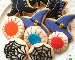 spiderweb cookies etsy