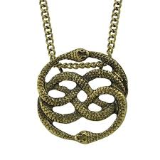 necklace story images Steampunk neverending story auryn pendant necklace hautify jpg